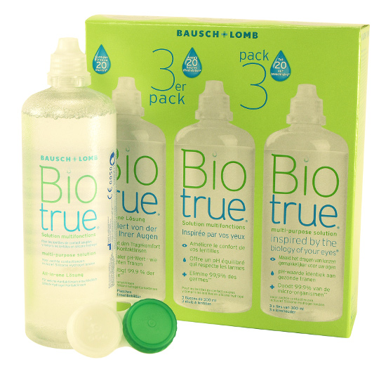 Biotrue 3er Pack, Bausch & Lomb (3 x 300 ml)
