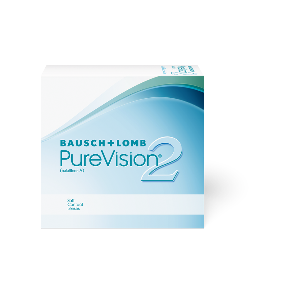 Testlinse Pure Vision 2 HD, Bausch & Lomb
