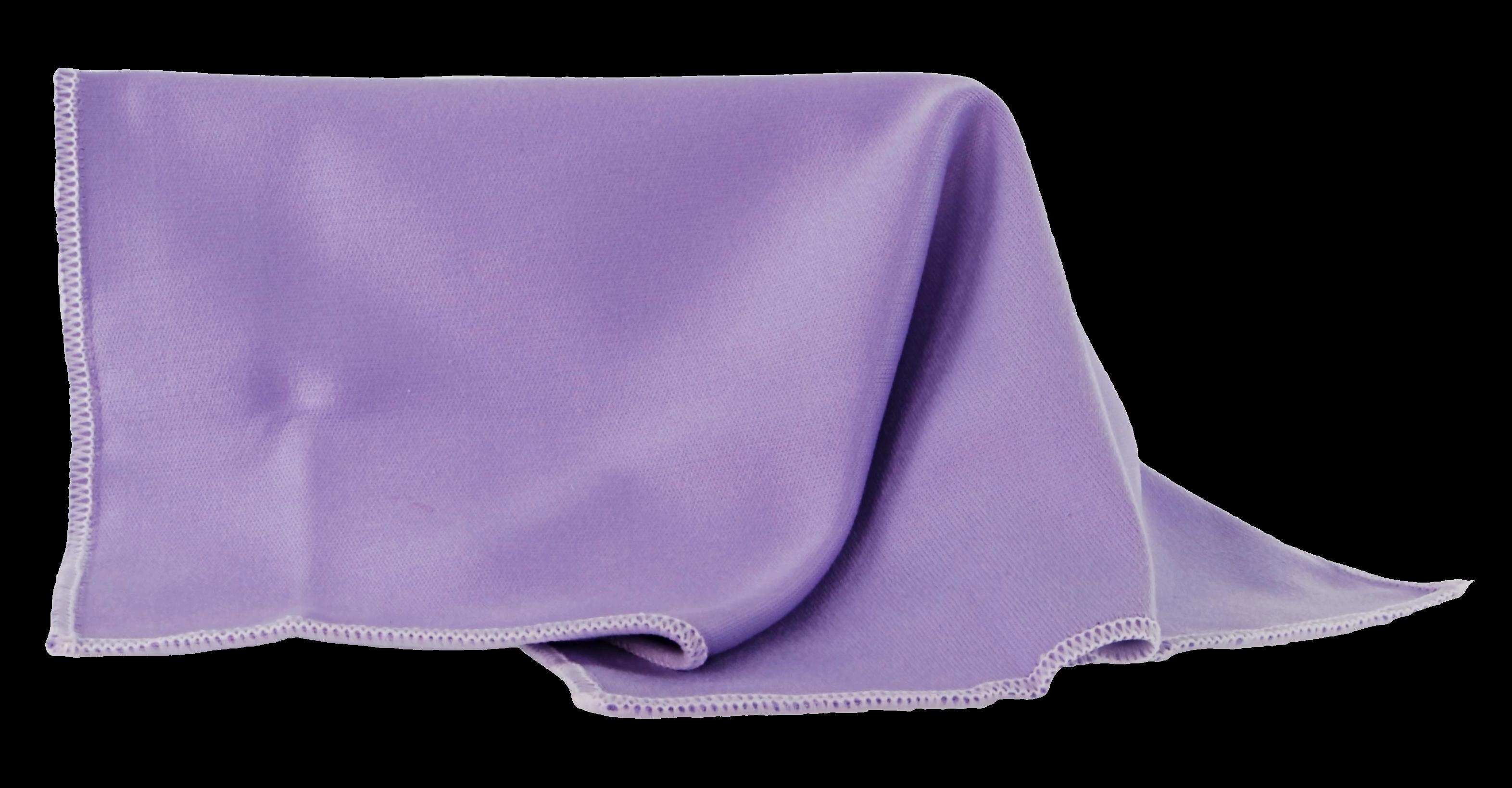 Brillenputztuch lila
