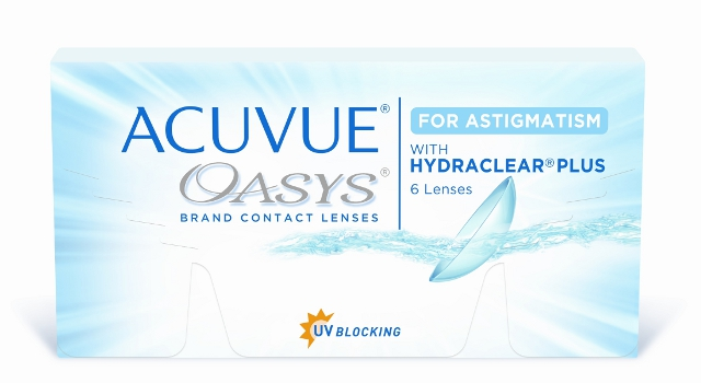 Acuvue OASYS for Astigmatism, Johnson & Johnson (6 Stk.)