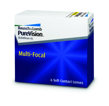 Pure Vision Multifocal, Bausch & Lomb (6 Stk.)