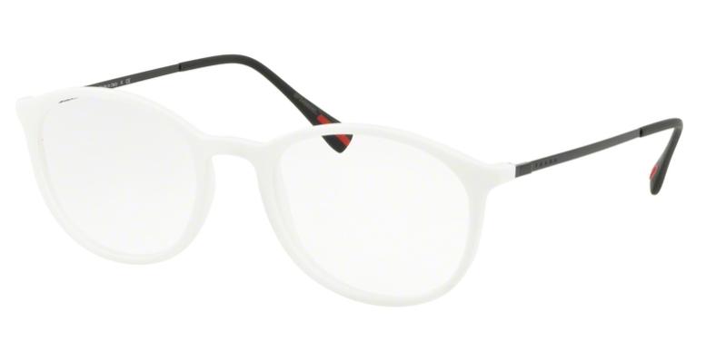 Prada Linea Rossa Brille PS 04HV TWK1O1 weiß