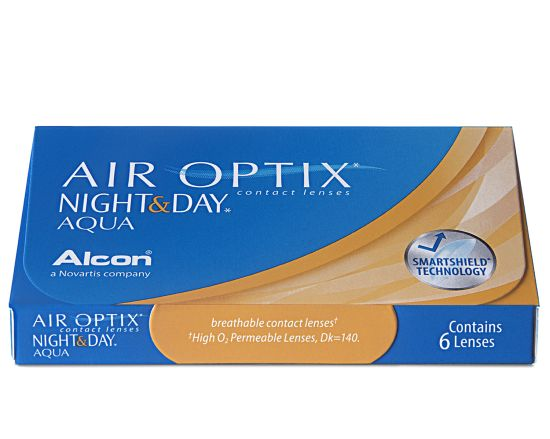 Air Optix Night & Day Aqua, Alcon (3 Stk.)