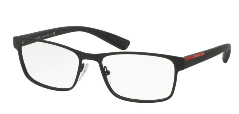 Prada Linea Rossa Brille PS 50GV DG01O1 schwarz