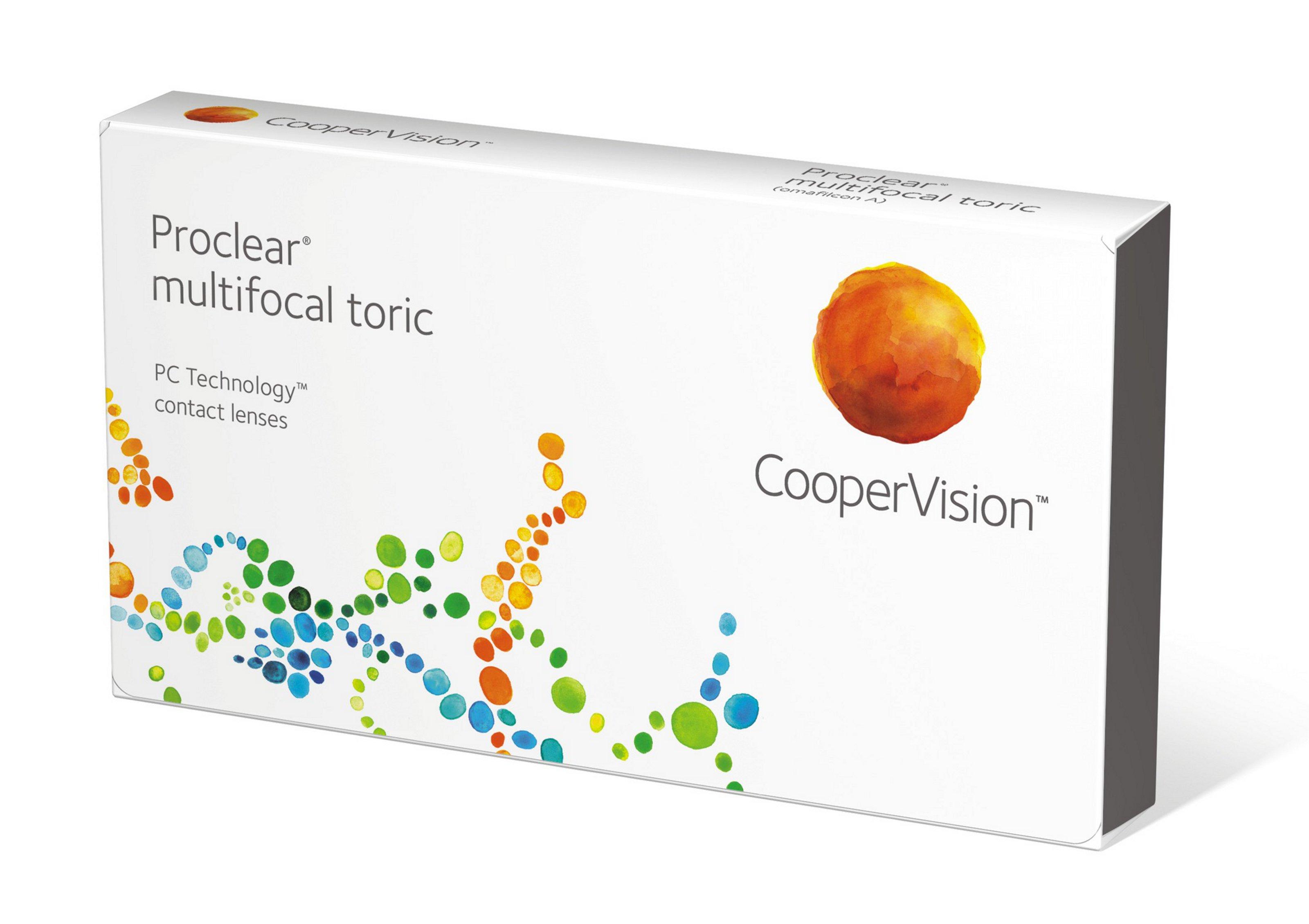 Proclear Multifocal Toric, Cooper Vision (6 Stk.)