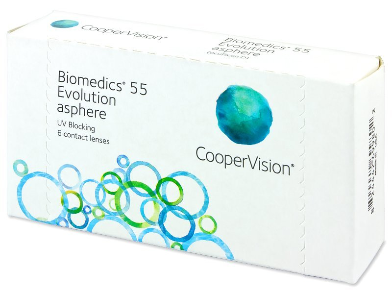 Biomedics 55 Evolution UV, Cooper Vision (6Stk.)