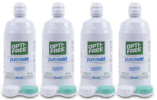 Optifree PureMoist Systempack, Alcon (4 x 300 ml)