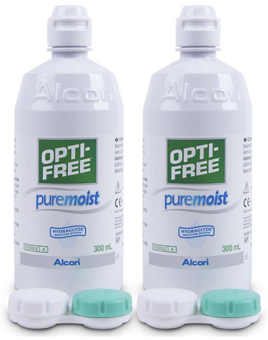 Optifree PureMoist Vorratspack, Alcon (2 x 300 ml)