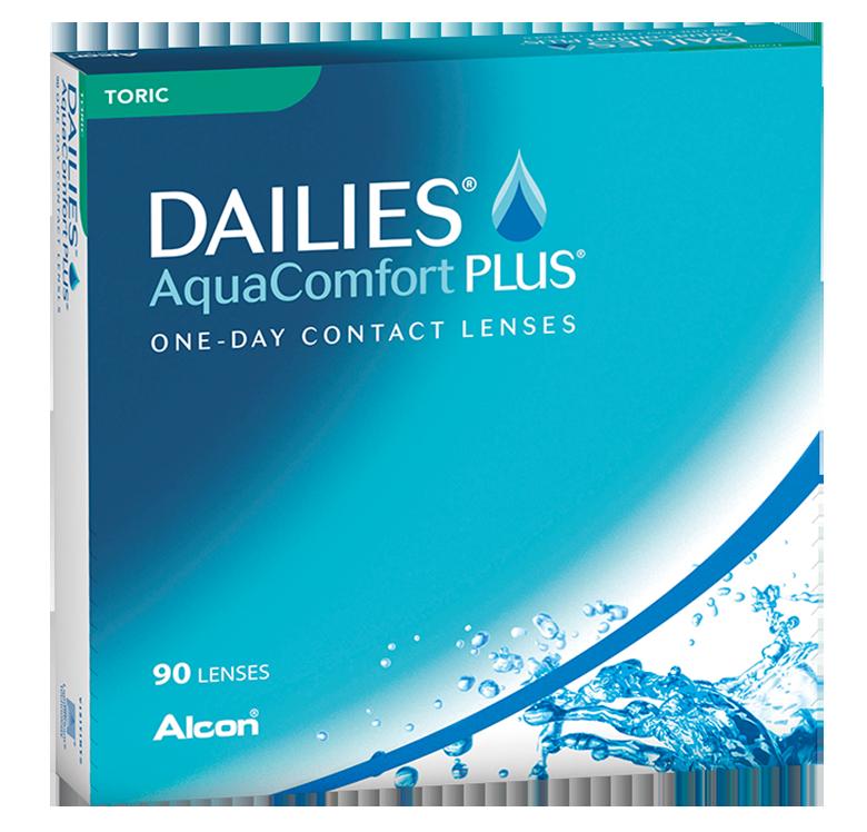 Dailies Aqua Comfort Plus Toric, Alcon (90 Stk.)