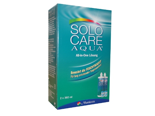 Solocare Aqua Vorratspack, Menicon (2 x 360 ml)