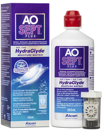 AOSEPT Hydraglyde, Alcon (360 ml)