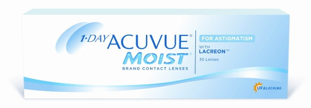 1-Day ACUVUE Moist for Astigmatism, Johnson & Johnson (30 Stk.)