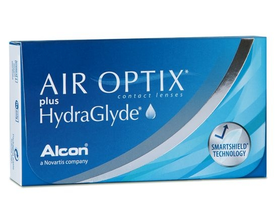 Air Optix Plus Hydraglyde, Alcon (3 Stk.)