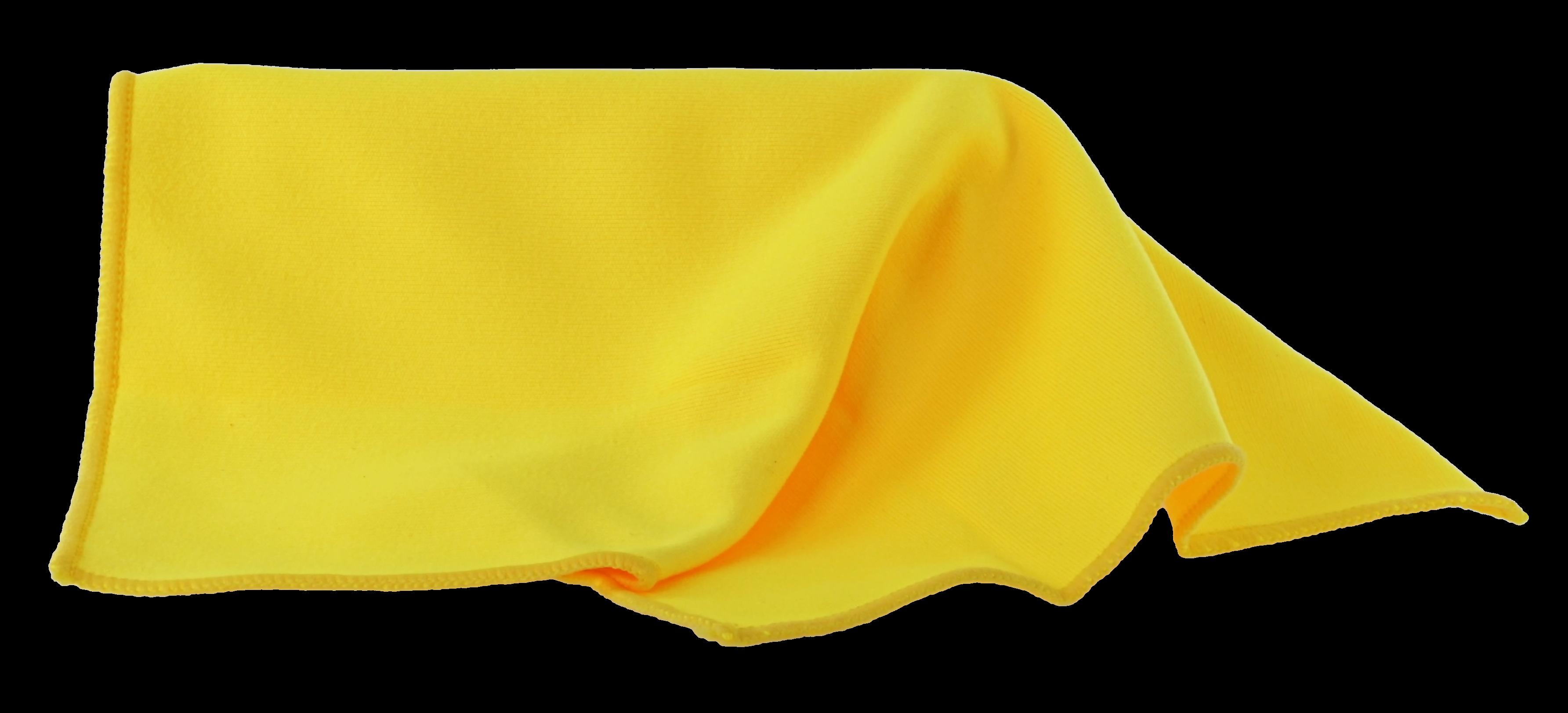 Brillenputztuch gelb