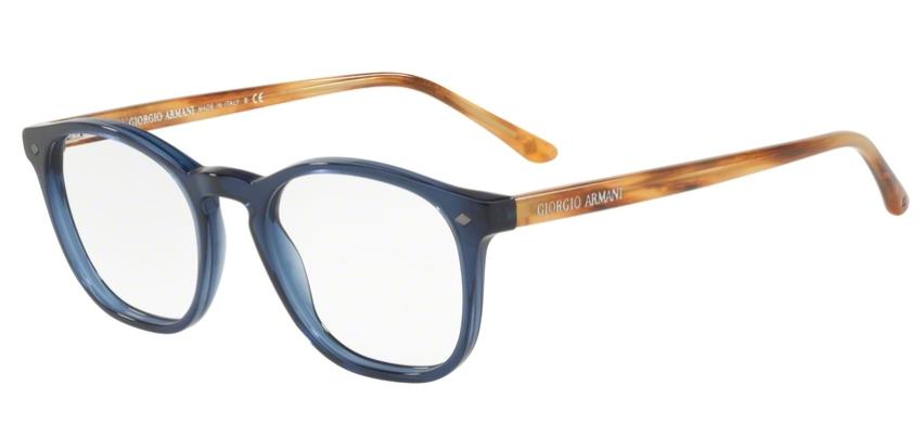 Giorgio Armani Brille AR7074 5358 blau transparent