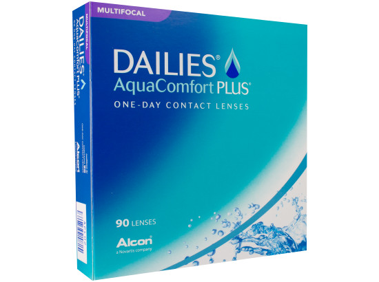 Dailies Aqua Comfort Plus Multifocal, Alcon (90 Stk.)