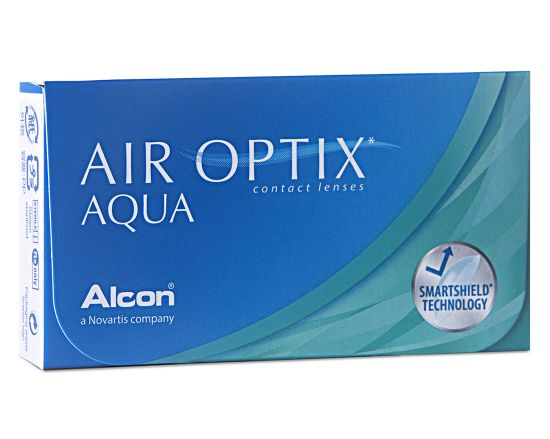 Air Optix Aqua, Alcon (3 Stk.)
