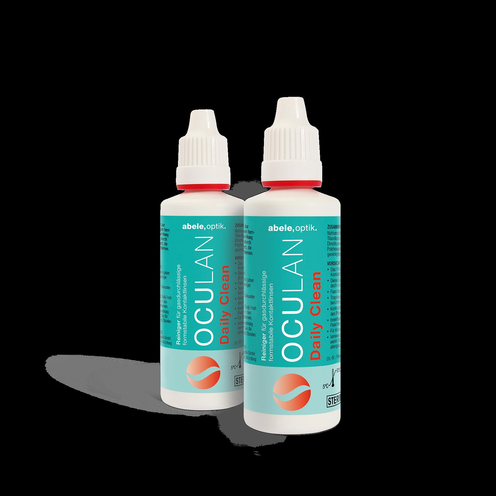 Oculan Daily Clean Sparpack, Abele Optik (2 x 30 ml)