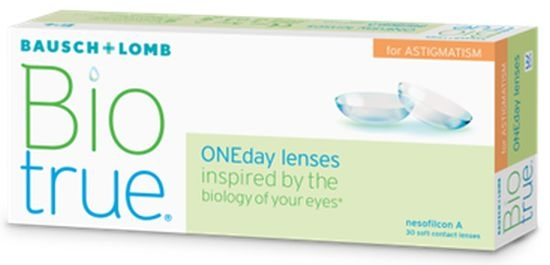 Biotrue ONEday for Astigmatism, Bausch & Lomb (30 Stk.)