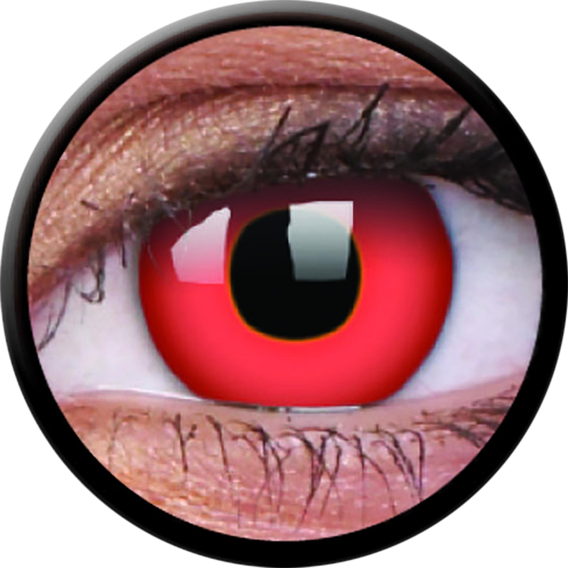 """Motivlinse Funny Lens """"RedDevil"""""""