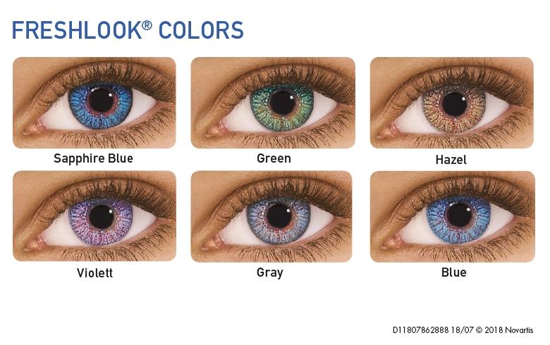 FreshLook Colors, Alcon (2 Stk. plan)