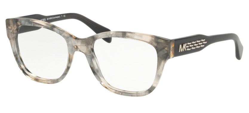 Michael Kors Brille MK4059 3341 COURMAYEUR grau transparent