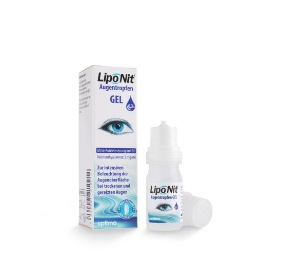 LipoNit Augentropfen Gel 0,3%, Optima (10 ml)