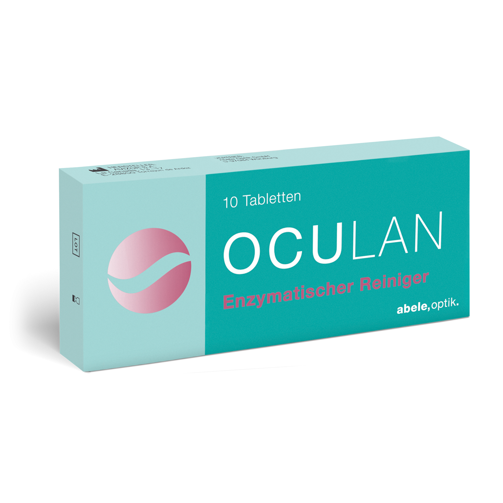Oculan Enzymtabletten, Abele Optik (10 Tabl.)