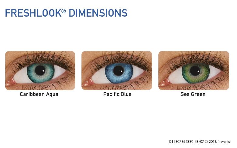 FreshLook Dimensions, Alcon (2Stk. plan)