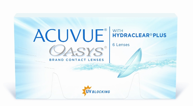 Acuvue OASYS with Hydraclear Plus, Johnson & Johnson (6 Stk.)