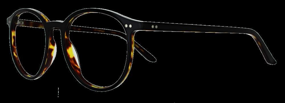Lucky Glasses Zusatzfassung schwarz-braun