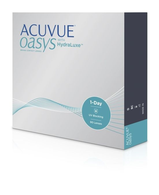 Acuvue Oasys 1-Day with HydraLuxe, Johnson & Johnson (90 Stk.)