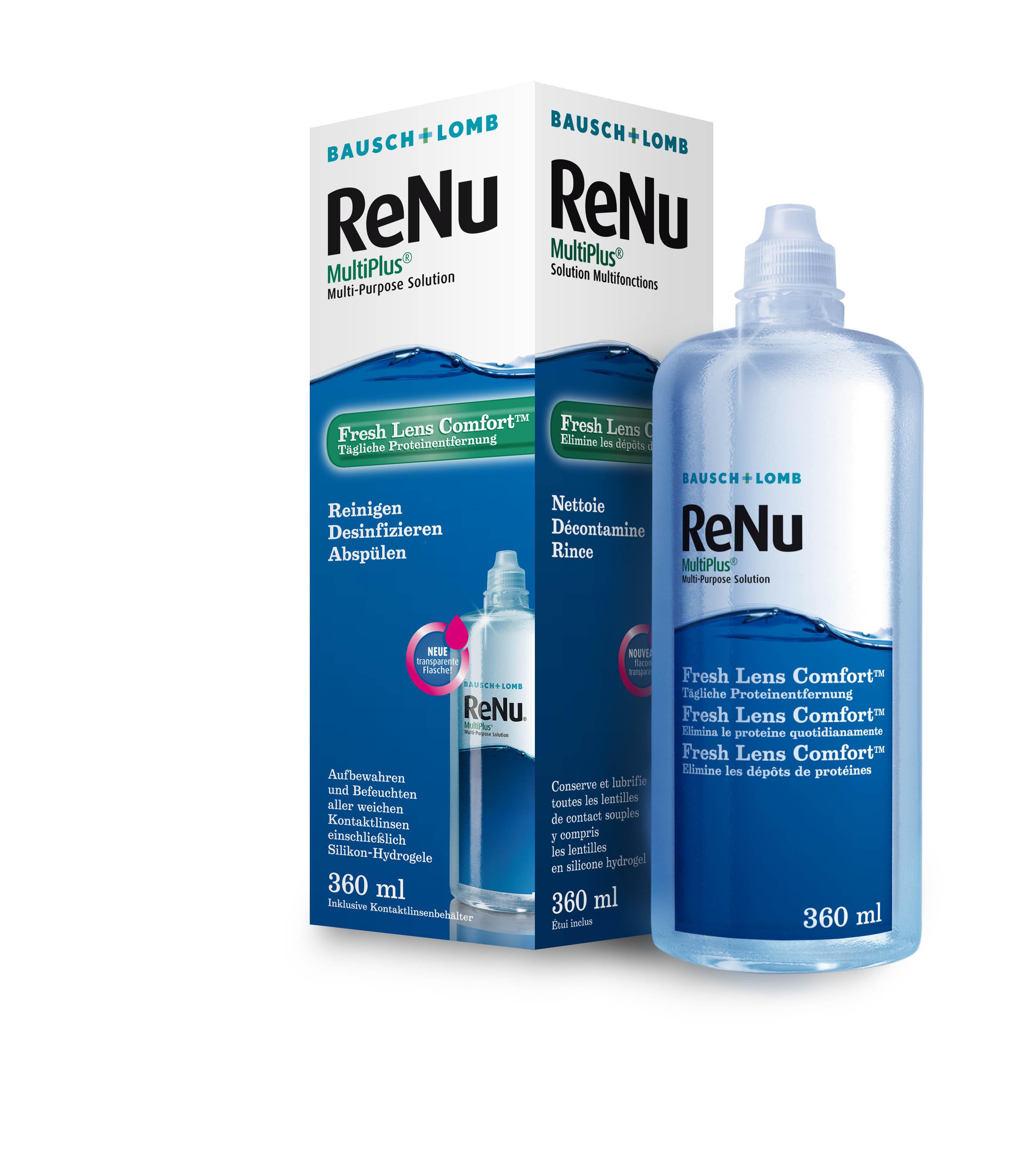 ReNu Multiplus, Bausch & Lomb (360 ml)