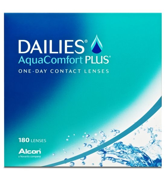 Dailies AquaComfort Plus, Alcon (180 Stk.)