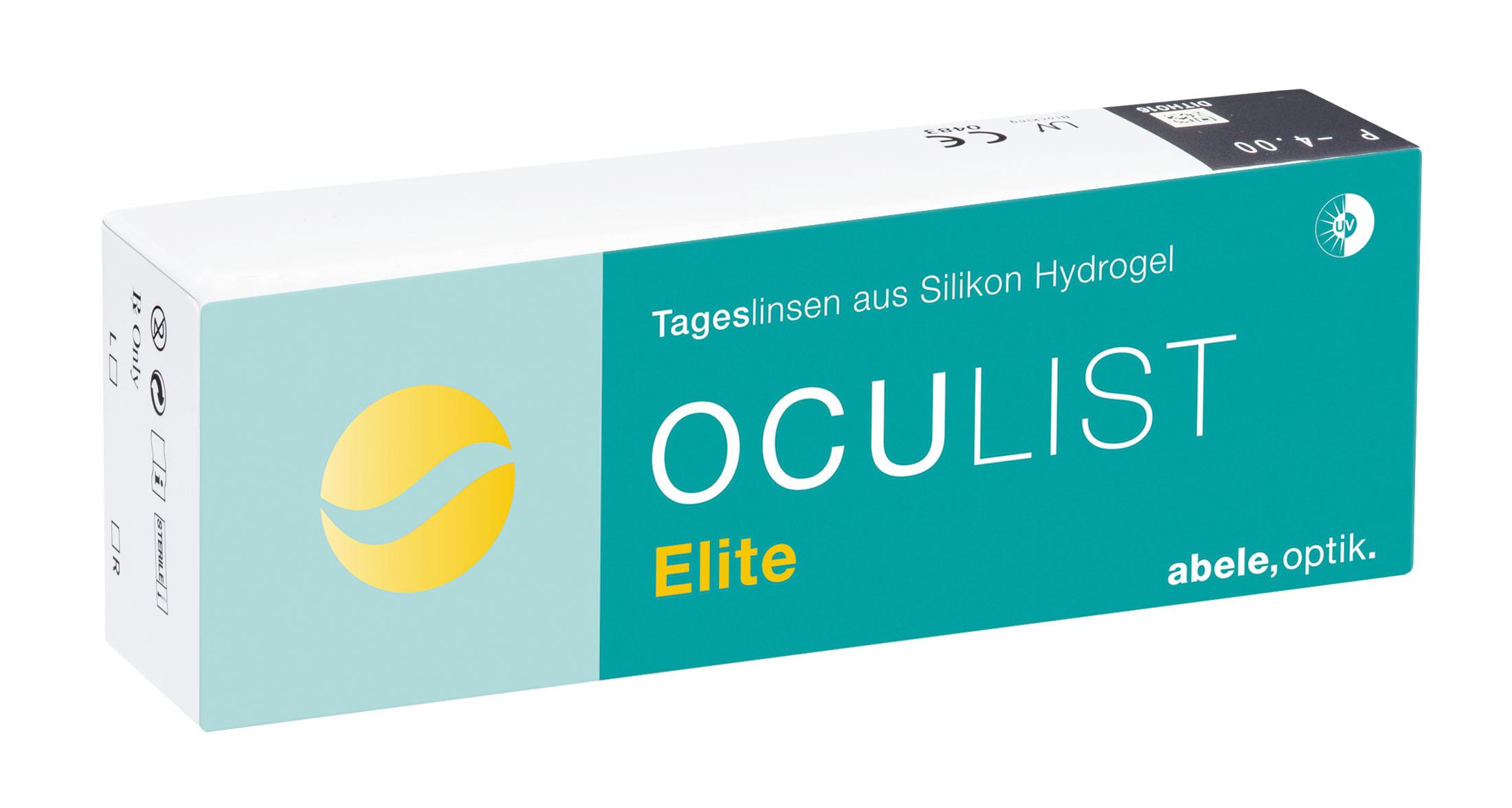Oculist Elite Tageslinse, Abele Optik (30 Stk.)