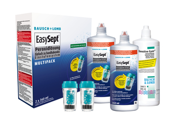 Easysept Multipack, Bausch & Lomb (2x360ml+ 1x355ml)