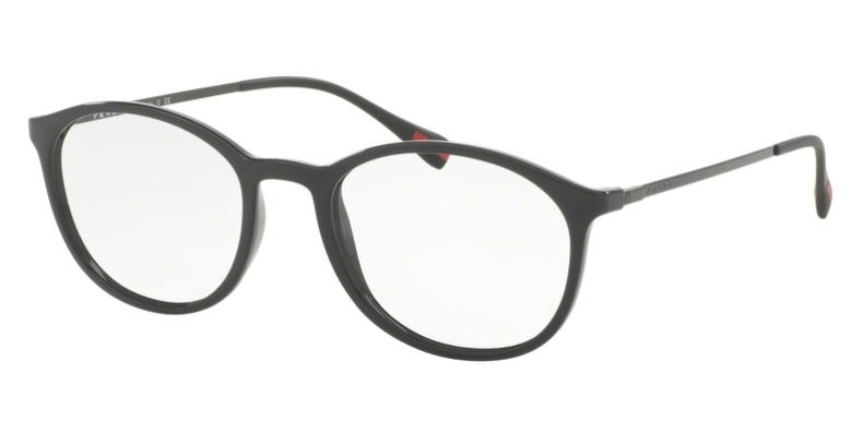 Prada Linea Rossa Brille PS 04HV 1AB1O1 schwarz
