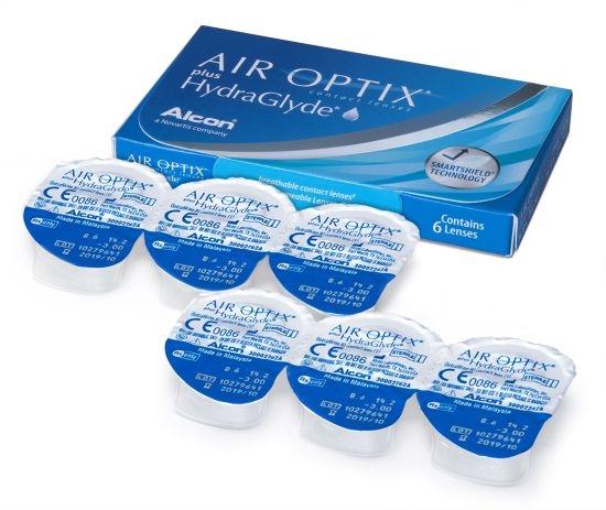 Air Optix Plus Hydraglyde, Alcon (6 Stk.)