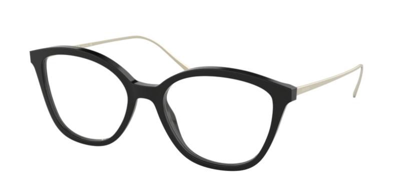 Prada Brille PR 11VV 1AB1O1 schwarz