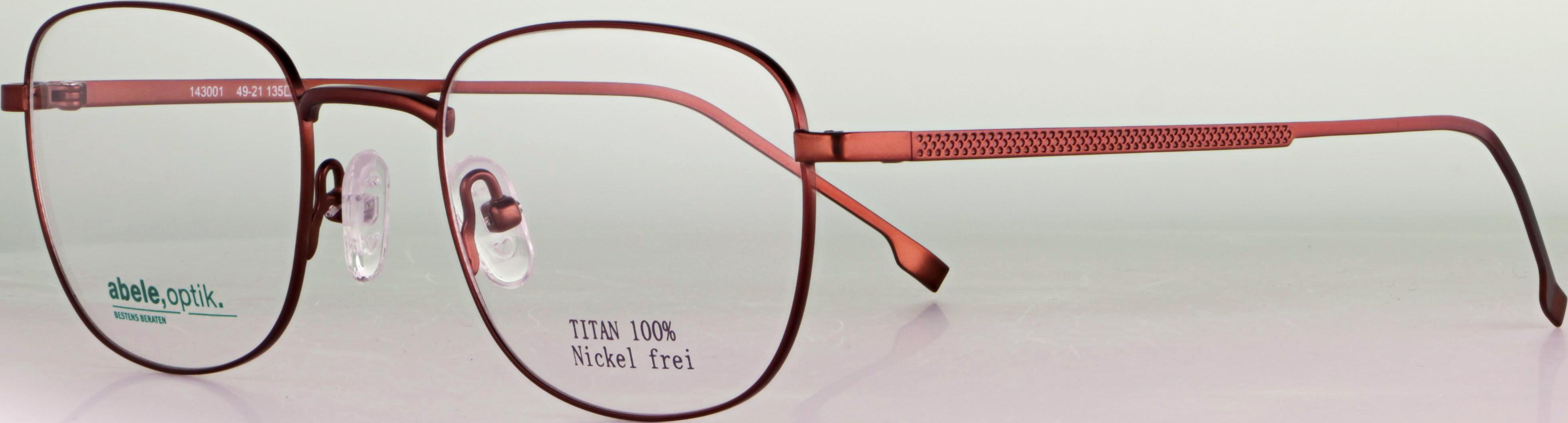 Titanbrille 143001