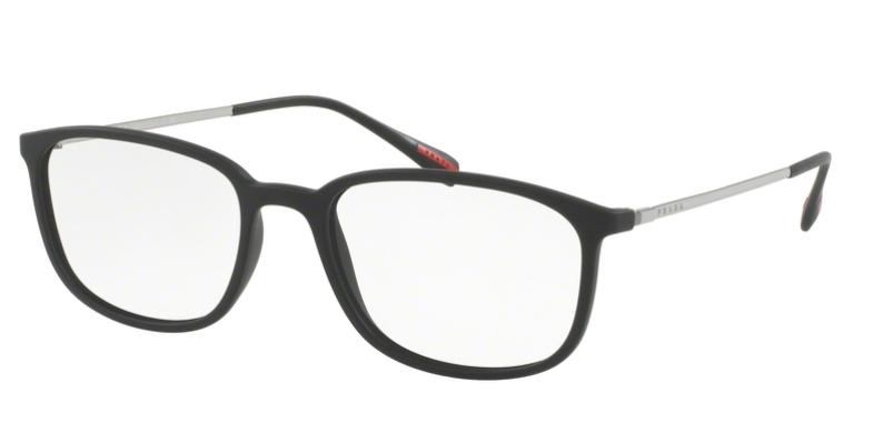 Prada Linea Rossa Brille PS 03HV DG01O1 schwarz
