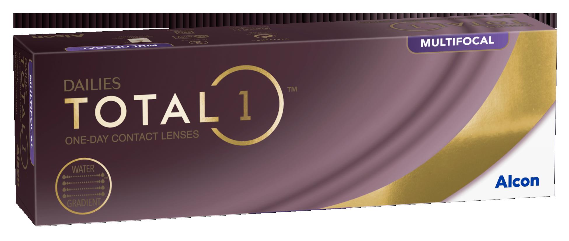 Dailies Total 1 Multifocal, Alcon (30 Stk.)