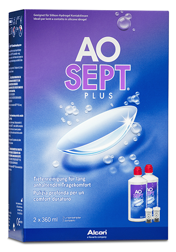 AOSEPT Plus Vorratspack, Alcon (2 x 360 ml)