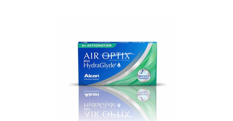 Air Optix Plus HydraGlyde for Astigmatism, Alcon (6 Stk.)